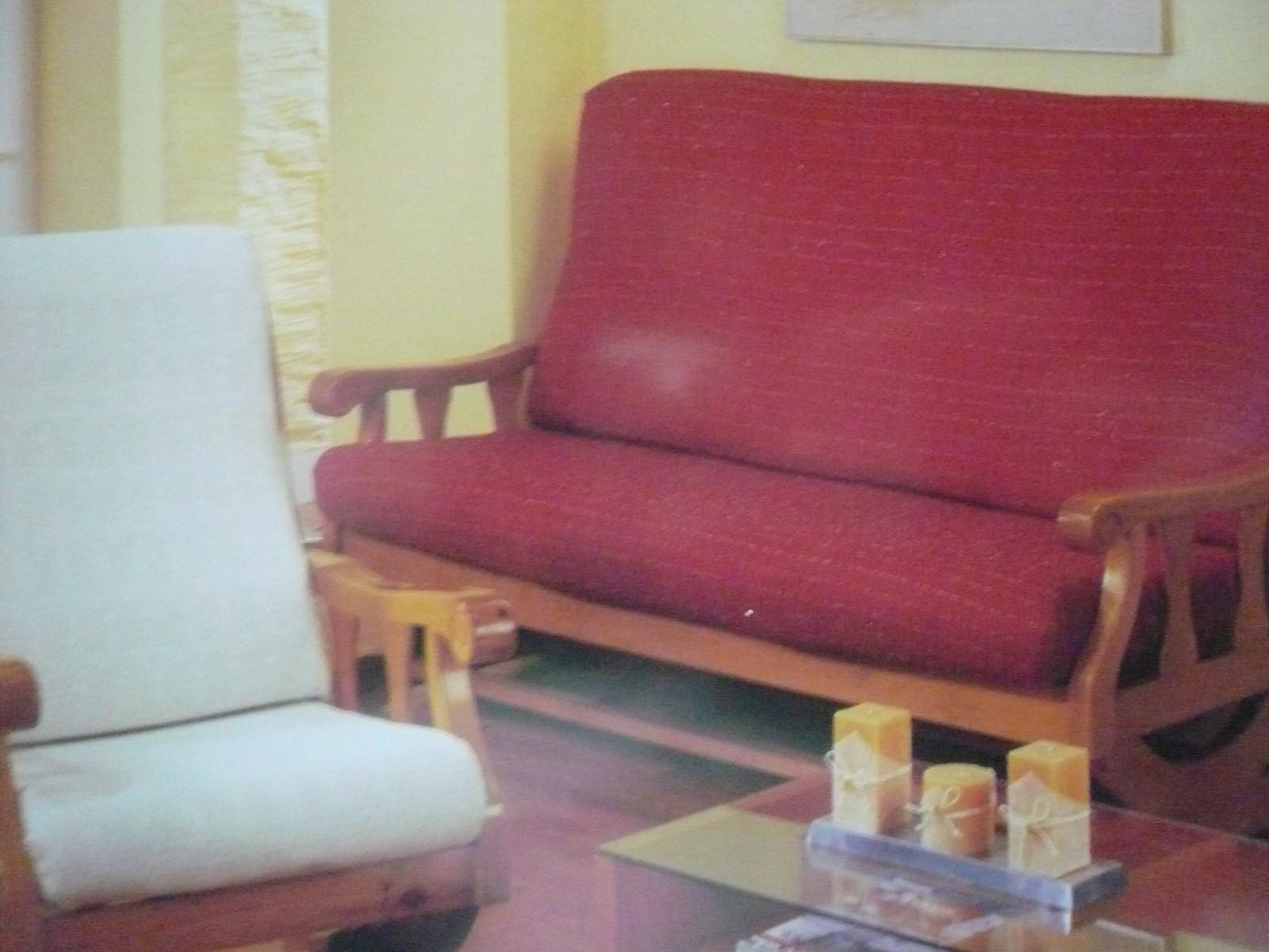 Funda Ajustable Para Sofa De Brazos De Madera
