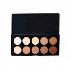 Paleta Contouring Crown 10 colores